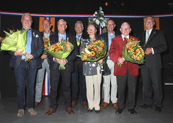 Harry van den Bogaert koninklijk onderscheiden.