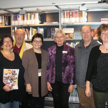 Bergse bibliotheek dreigt letterlijk te worden gehalveerd.