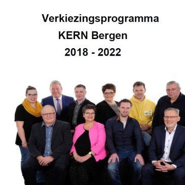 KERN presenteert het verkiezingsprogramma